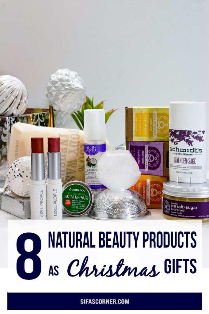 Natural Beauty Products Christmas Gift