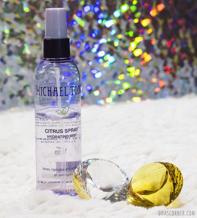 Michael Todd citrus spray review