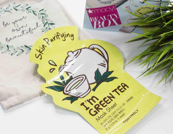 macys-beautybox-tonymoly green tea mask