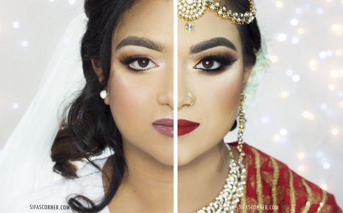 American Bridal vs Bangladeshi/Bengali Bridal Makeup