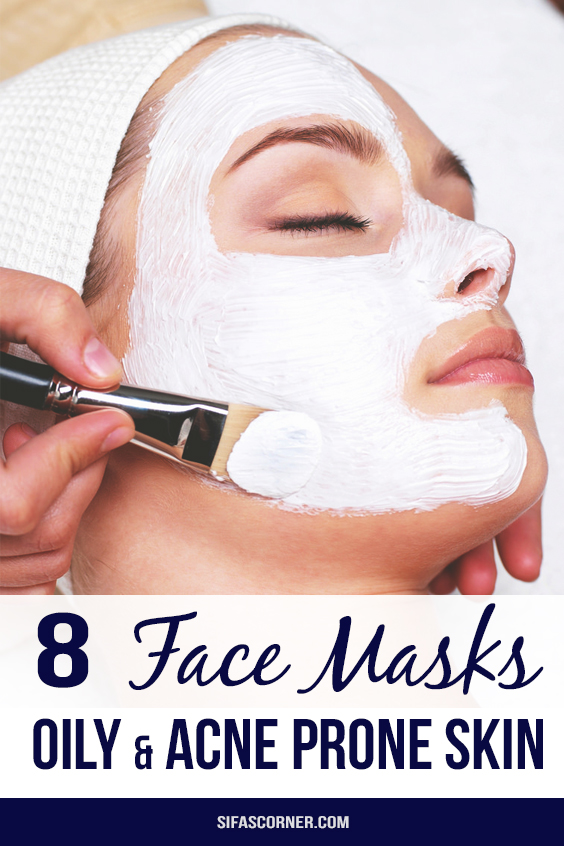 face masks for oily acne prone skin