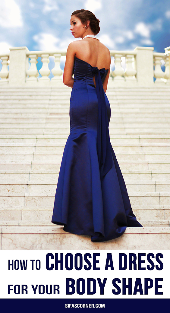 how to choose a dress for body shape