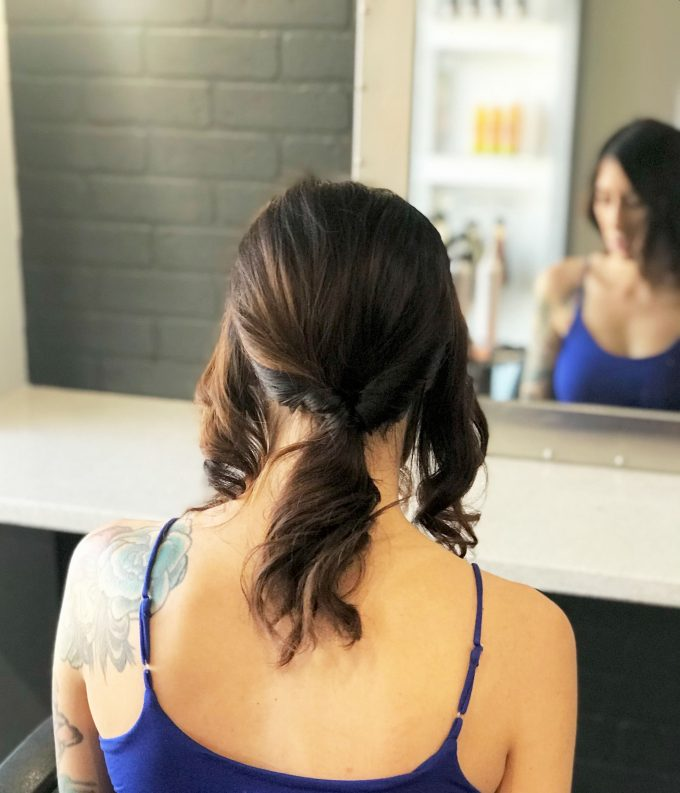 how to do an easy bridal hair updo