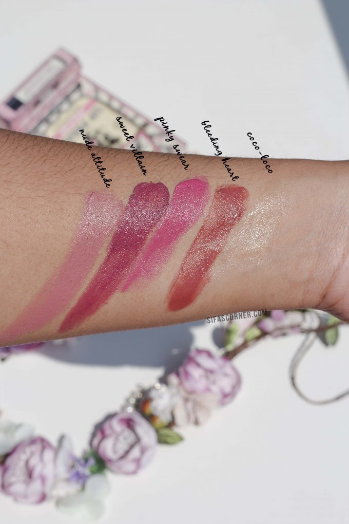 Doctor Lip Bang's Lip Freak Tinted Lip Balm Review Swatch