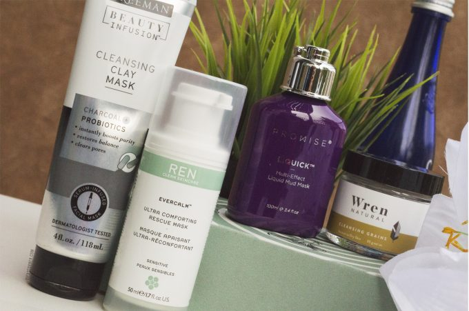 Winter to Spring Skincare- 4 Face Masks for Smoother Clear Skin